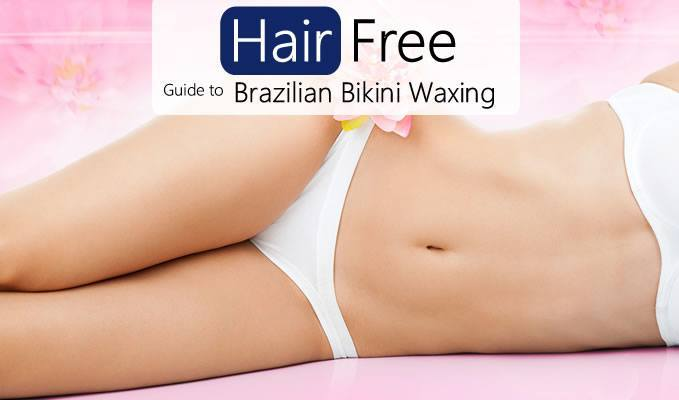 The brazilian bikini wax blonde