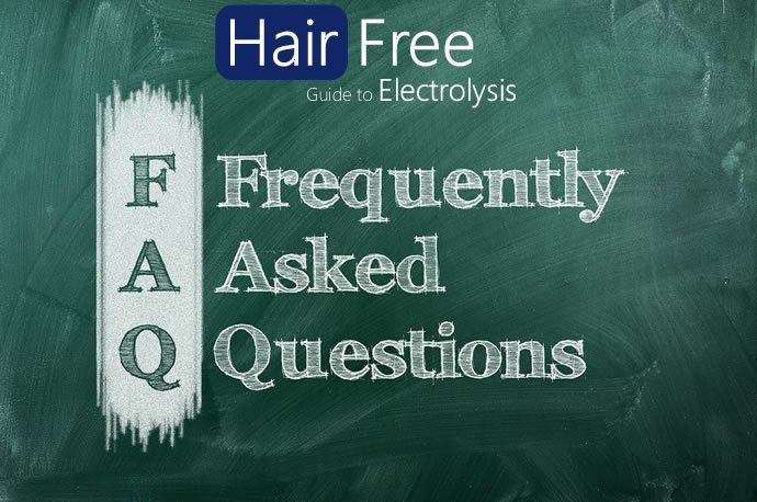 Electrolysis frequently asked questions header