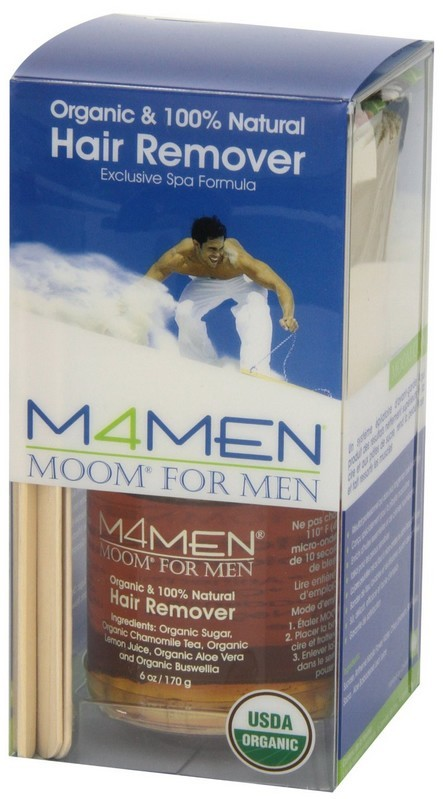 MOOM for men front of pack