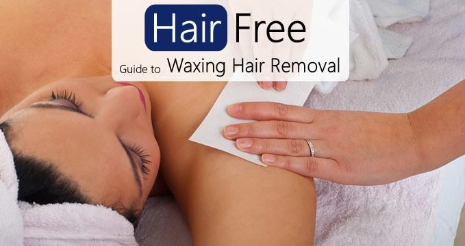 Hair Free guide to waxing hair removal