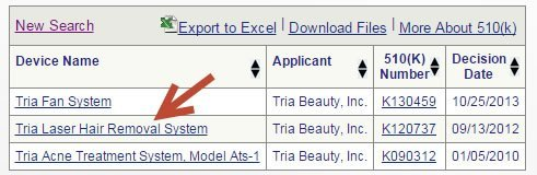 tria_beauty_fda_lookup