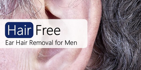 Ear hair removal for men your options hair free life man with hairy ear solutioingenieria Choice Image