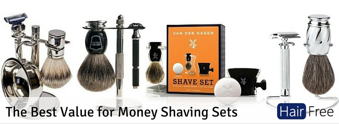 The Best Value for Money Shaving Sets