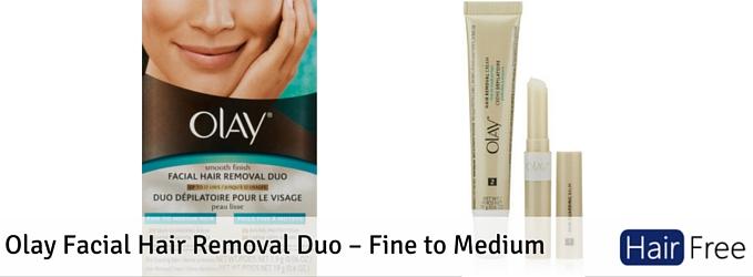 Olay Facial Hair Removal Duo Fine To Medium Hair Free Life