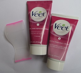 Veet 2 Step Facial Hair Cream Kit Review Hair Free Life