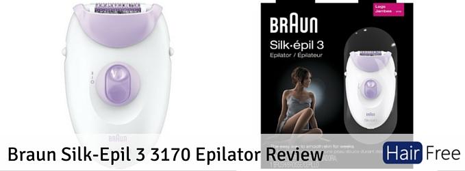 Recensioni Braun 3170 epilator