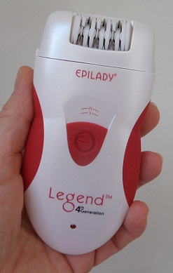 Epilady Legend 4th Generation in Hand