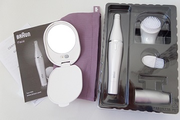 Braun FaceSpa 830 contents