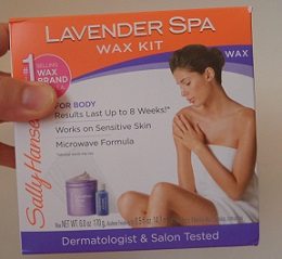 Sally Hansen Lavender Spa Wax Kit