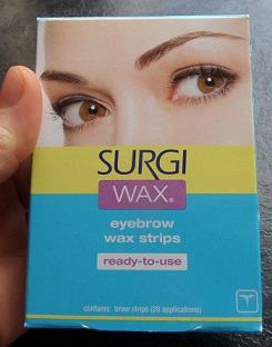 Surgi Wax Eyebrow Strips