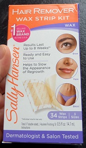 Sally Hansen Wax Strip Kit