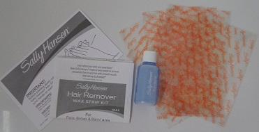 Sally Hansen Wax Strip Kit -  in the Box