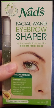 Nad's Facial Wand Eyebrow Shaper - box