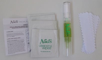 Nad's Facial Wand Eyebrow Shaper - in the box