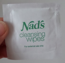Nad's Facial Wand Cleansing Wipes