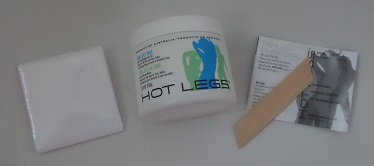 Hot Legs Cool Gel Wax - in the box