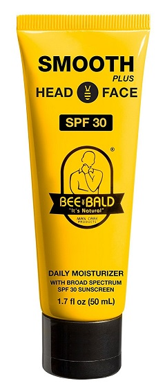 Bee Bald Moisturizer with SPF 30 Head and Face