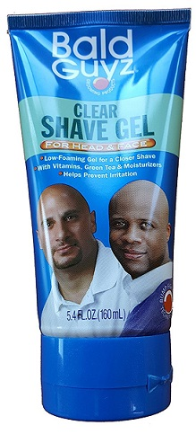 Bald Guyz Clear Shave Gel 5.4oz