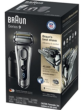 Braun Series 9 9290c in the bo