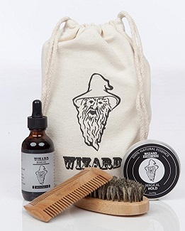 Wizard Beard Grooming Care Kit