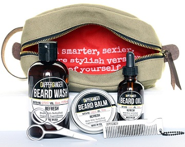 Dapperganger Beard Grooming Kit and bag