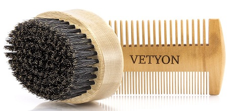 Vetyon Beard Brush and Comb
