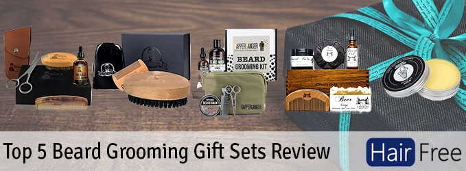 top 5 beard grooming gift sets review hair free life. Black Bedroom Furniture Sets. Home Design Ideas