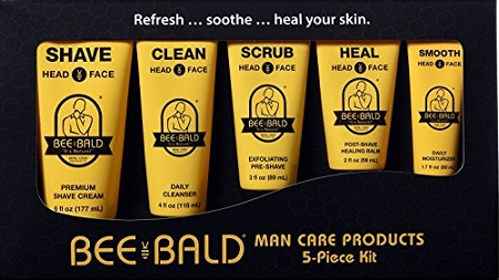 Bee Bald 6 piece Gift Set