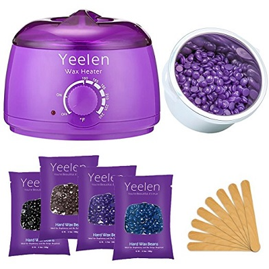 Yeelan Hot Wax Warmer Waxing Kit