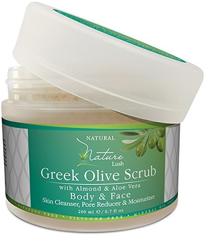 Nature Lush Greek Body Scrub