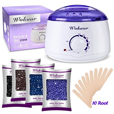 Rapid Melt Hair Removal Waxing Kit