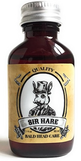 Sir Hare Shave Oil for shaving your head