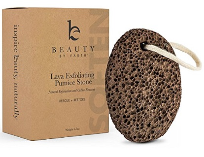 Beauty by Earth Pumice Stone with string