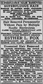 Early Electrolysis