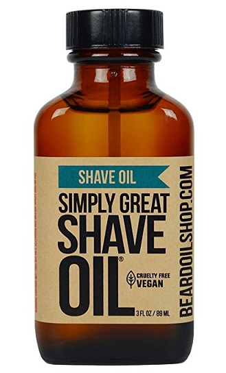 Simply Great Shave Oil Cruelty Free and vegan 3oz