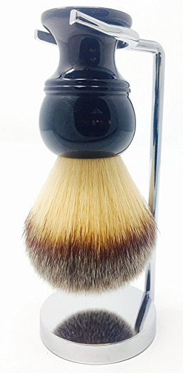 Malibu Synthetic brush and stand set
