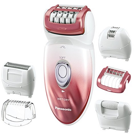 Panasonic ES ED90-P Wet dry epilator and shaver