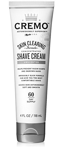 Cremo Unscented Shave Cream 4oz