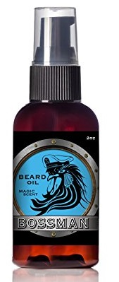 Bossman Brands Beard Oil 2oz all natural with essential oils