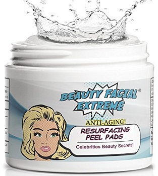 Anti aging exfoliating pads Beauty Facial Extreme
