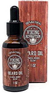 Viking Revolution Beard Oil Natural Sandalwood 1oz