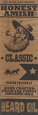Honest Amish Classic Beard Oil in Box