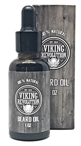 Viking Revolution unscented beard oil 1oz