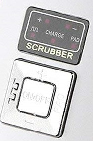 Kinga Facial Scrubber Controls