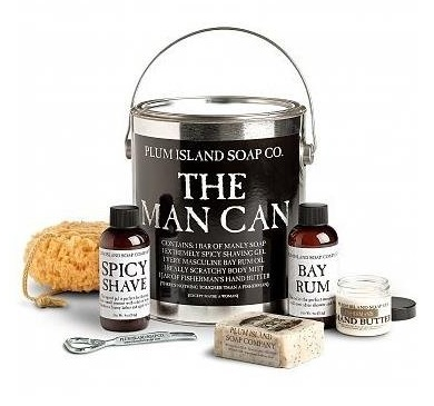 The Man Can Gift Basket - The Man Can Gift Basket - Plum Island Soap Company