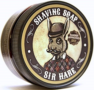 Sir Hare Premium Shaving Soap Barbershop 4oz