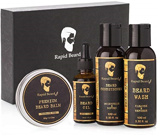 Rapid Beard Grooming Kit for Men Care