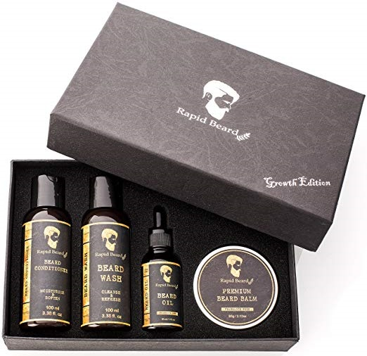 Rapid Beard grooming kit for men