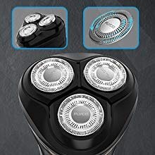 Flyco 2 in 1 rotary shaver head