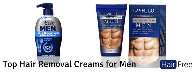 Top Hair Removal Creams For Men Roundup Review Hair Free Life